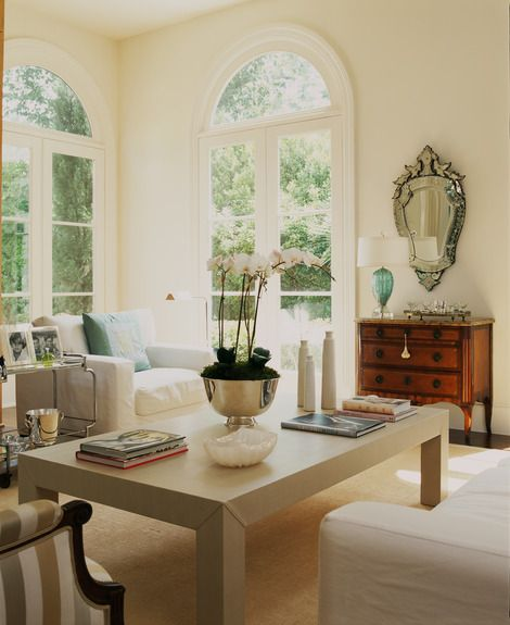 French Doors With Arched Transoms