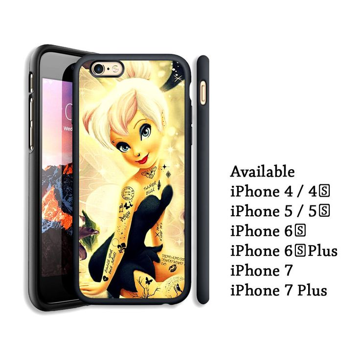 Cool Black Disney Tinkerbell Tatto Print On Case Cover For iPhone 6s+ 7/7+ #UnbrandedGeneric #Top #Trend #Limited #Edition #Famous #Cheap #New #Best #Seller #Design #Custom #Gift #Birthday #Anniversary #Friend #Graduation #Family #Hot #Limited #Elegant #Luxury #Sport #Special #Hot #Rare #Cool #Cover #Print #On #Valentine #Surprise
