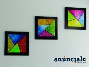 Tripticos geometricos abstractos buscar con google for Imagenes de cuadros abstractos geometricos