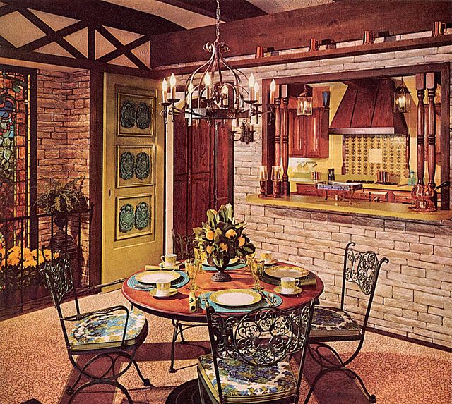 289 Best Retro Kitchens/Dining Rooms Images On Pinterest