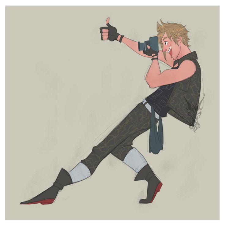 Final Fantasy XV drawings - David Ardinaryas Lojaya