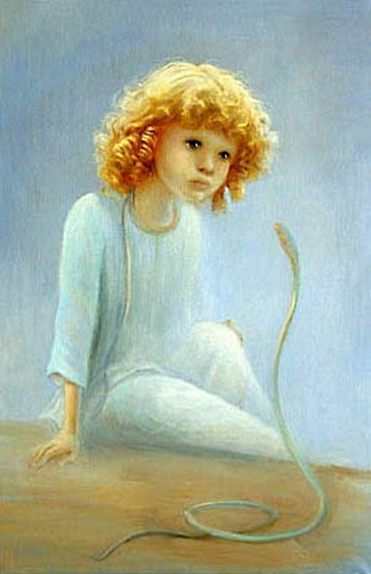 Маленький принц в работах минской художницы Ольги Стефанович