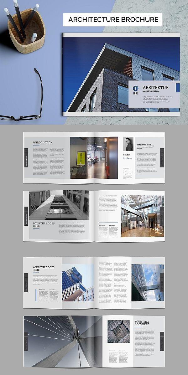 Architecture Brochure Brochure Templates Booklet Design