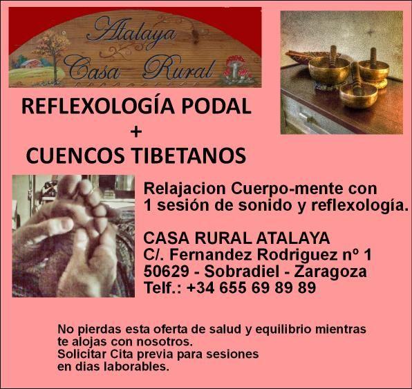 Reflexologia y sonido.