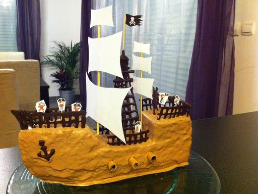 25 best ideas about gateau bateau pirate on pinterest for Decoration quatre quart