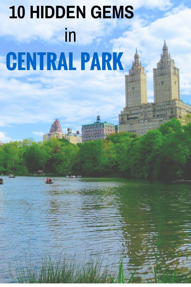 10 Hidden Gems In Central Park, New York City