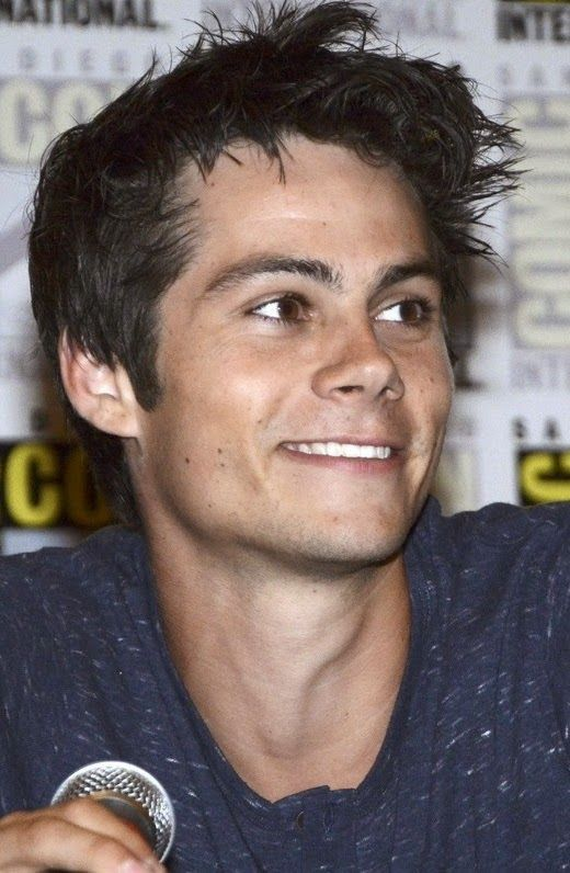 Dylan O'Brien Promoting 'The Maze Runner' at Comic-Con!