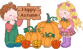 Image result for happy autumn clipart