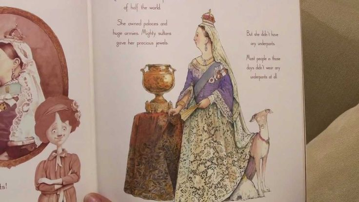 Queen Victoria's Underpants - by Jackie French and Bruce Whatley (© Harp...