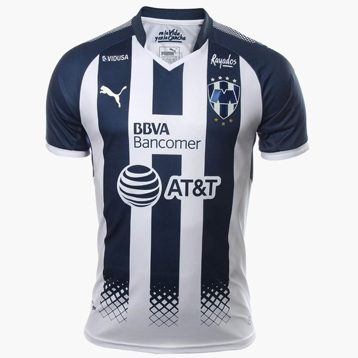 Mexico Monterrey 2017/18 Home Men Soccer Jersey Personalized Name and Number