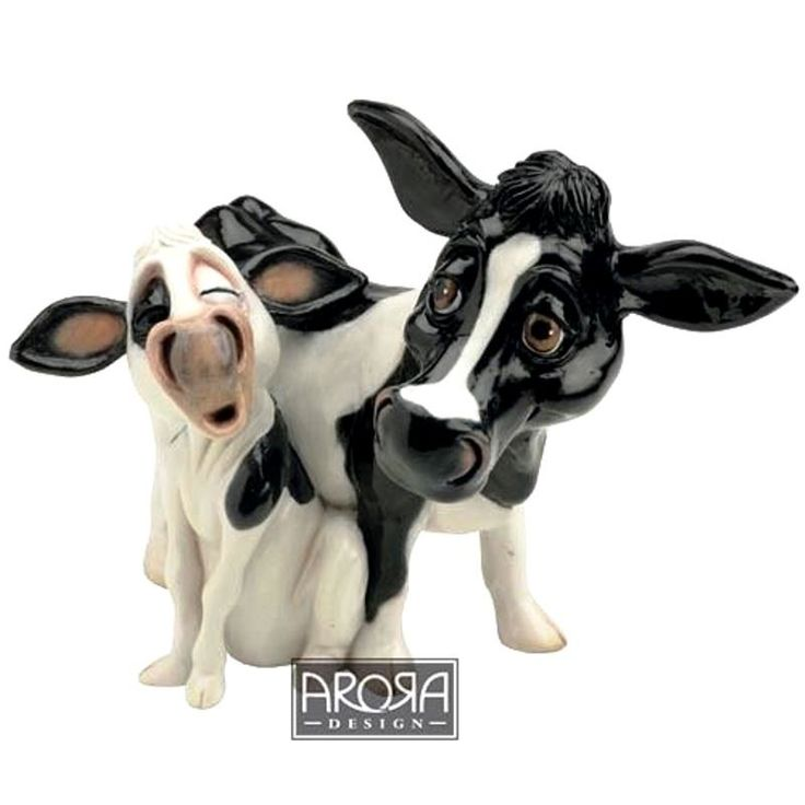 Pets With Personality - Cow and Calf Available @ Li'l Treasures $35 (International Shipping available)