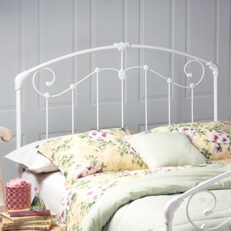 What rod iron headboard