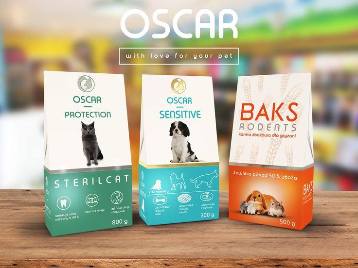 Packaging design for pet food.