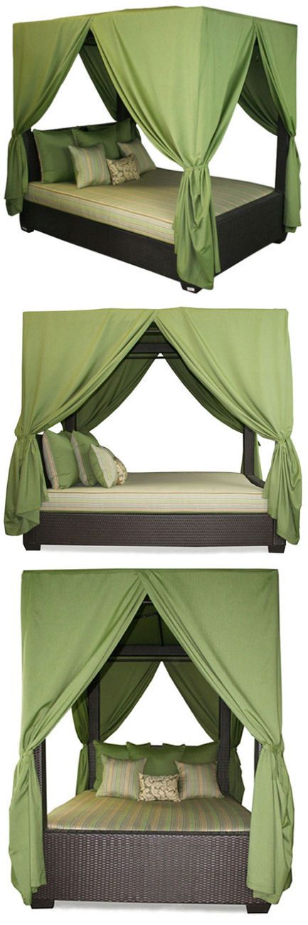 Duchess Outdoor Canopy Bed ♡