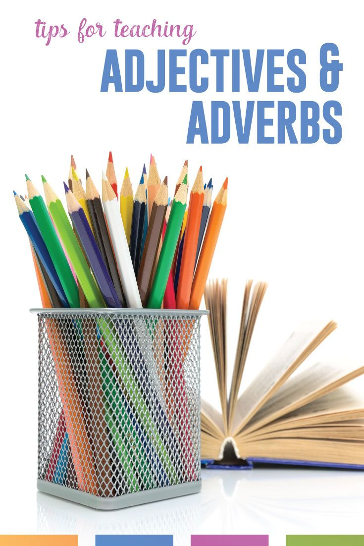 Adjectives and Adverbs Worksheets and Extra