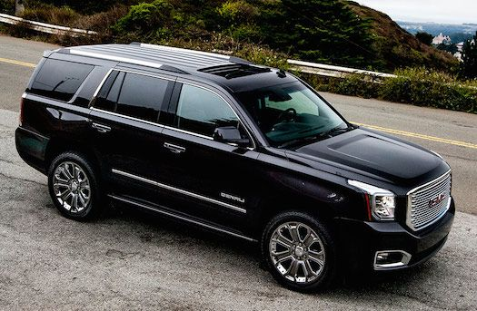 I want an all black GMC Denali to drive my children around in.