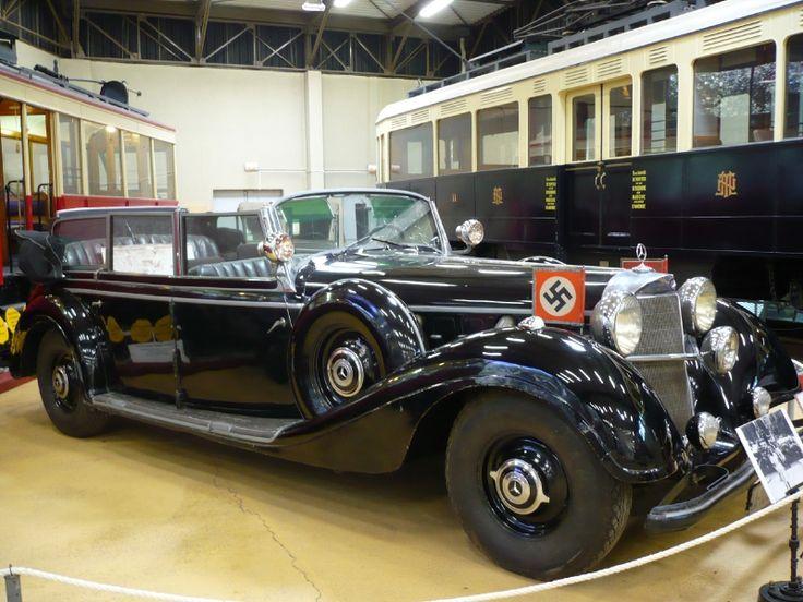 Hasil gambar untuk Hitler's Nazi-parade Mercedes limo set for US auction/ GIF