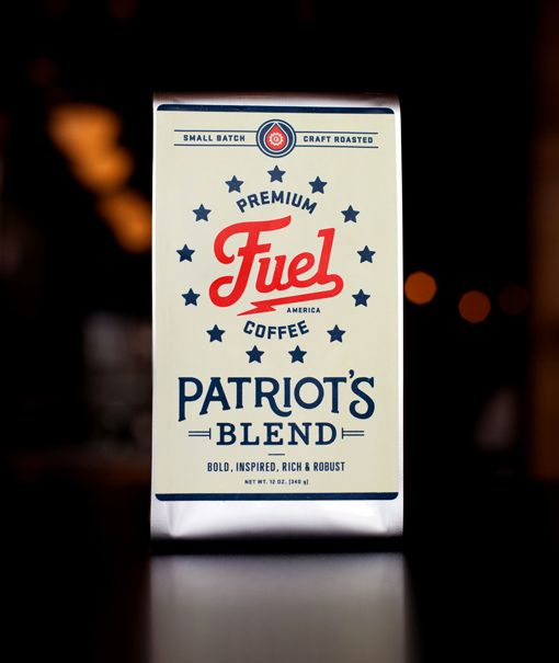 Some dope type on this coffee packaging for Fuel, a traditional coffee shop in Brighton, MA. Nice work by Commoner, Inc.