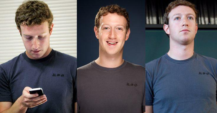 Descubre por qué los millonarios no se preocupan por su vestimenta y usan siempre la misma ropa, como el CEO de Facebook Mark Zuckerberg y su playera gris