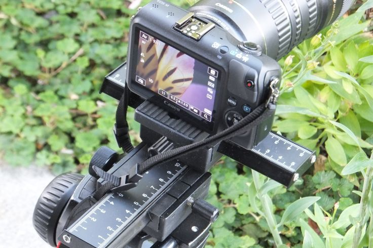"""An affordable 4-way macro-focusing rail.  Jill has tried it out and she is very impressed - the smooth rack and pinion movement provides extremely fine focusing adjustments. Two 6"""" rails allow movement in four directions, right, left, forward and backward. Mounts on, and accepts, standard tripod threads and positive locking knobs assure rock-steady focus  Only $149"""