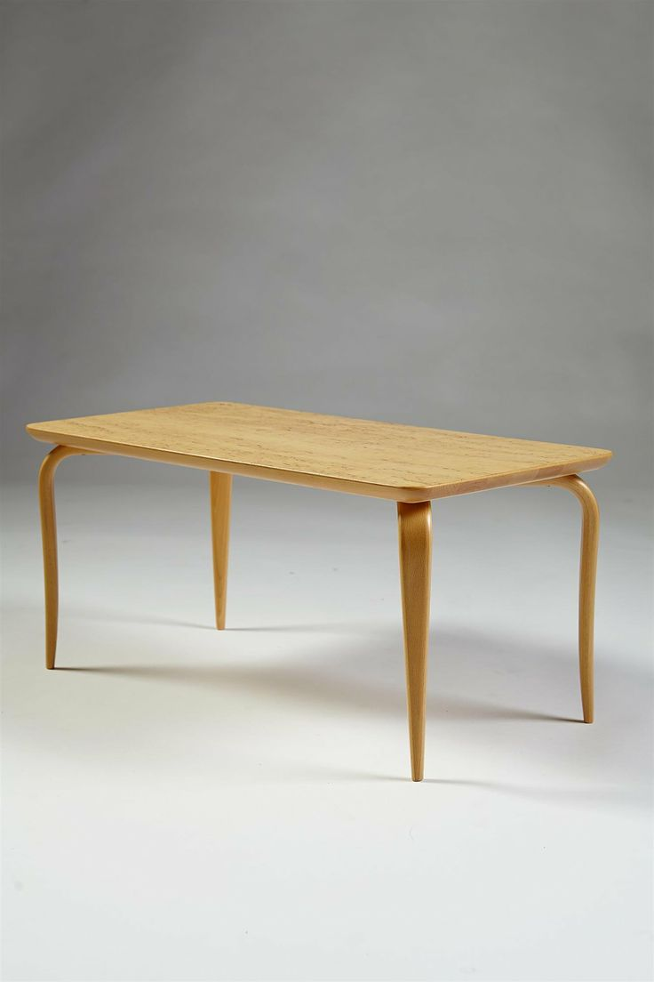 1960 s dining table wrought iron base and glass top tables - Occasional Table Designed By Bruno Mathsson For Karl Mathsson Sweden H 32 Cm 12 70 Cm