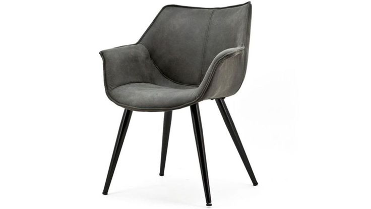 Fauteuil Sibrand antraciet