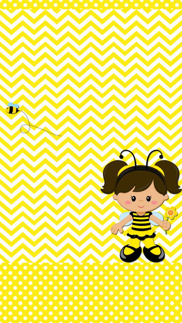 Bee and Girl Flower tjn: