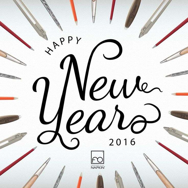 Chissà che forma prenderà il nuovo anno… Buon 2016  --- Who knows what 2016 will bring...#HappyNewYear  #NAPKINFOREVER #MadeinItaly