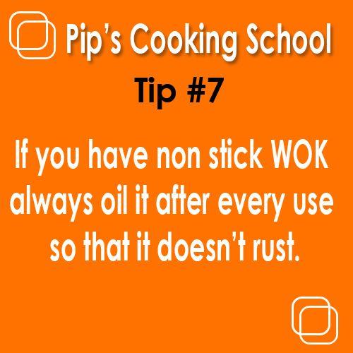 Cooking Tip www.pipscookingschool.com.au Melbourne, Australia