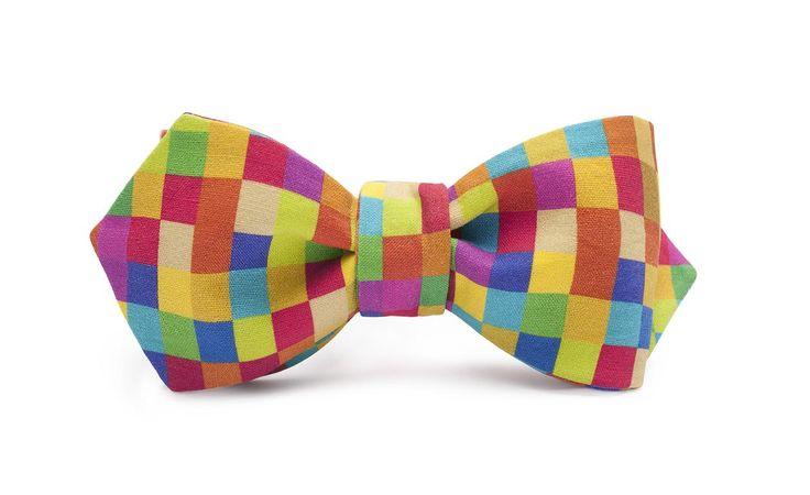 marthu self tied bow tie FREAKY PIXEL d0031