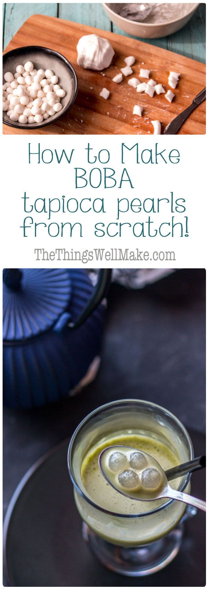 how to make tapioca pudding from scratch