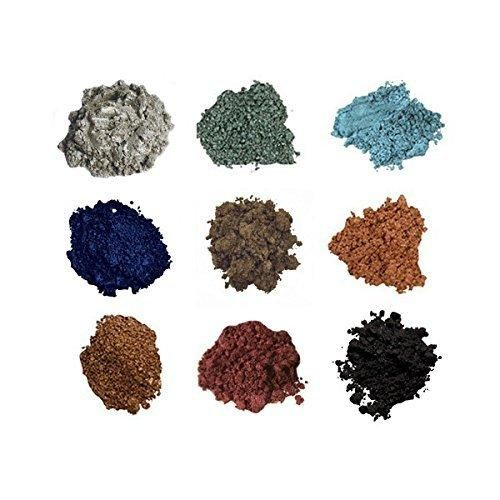 BELLA TERRA Shimmer Powder 9-Stack - GARNET