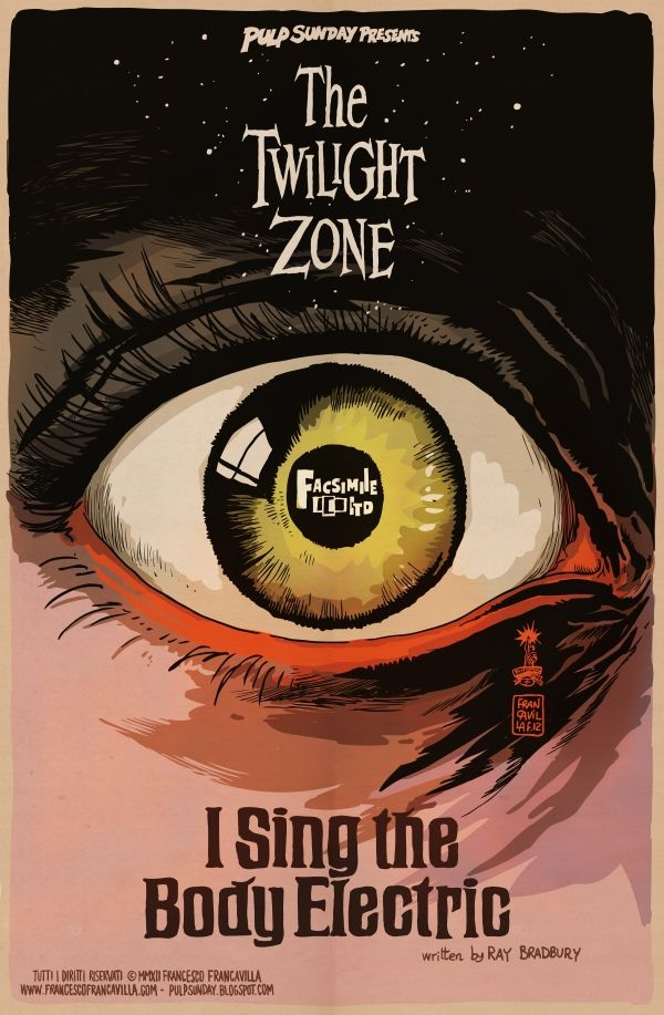 """Ray Bradbury's Double Feature: """"Twilight Zone"""" & """"It Came From Outer Space"""""""
