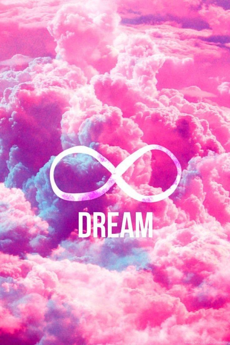 Dream Girl Wallpapers Pink Clouds Sky Wallpaper Iphone Cute Infinity Sign Wallpaper