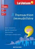 Le Volum' Transaction immobilière | Editions Foucher