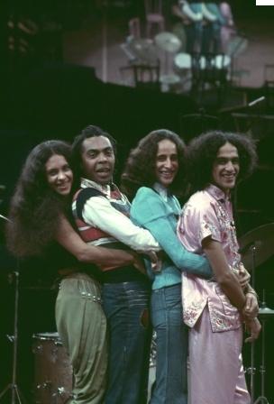 Gal, Gil, Bethânia e Caetano