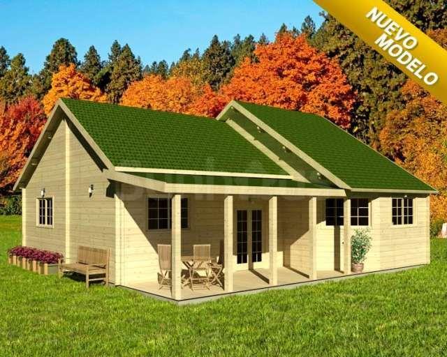 Casas prefabricadas en madera - distribuimos en todo el país