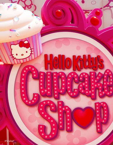 Hello Kitty's Cupcake Shop @ Universal Studios Japan