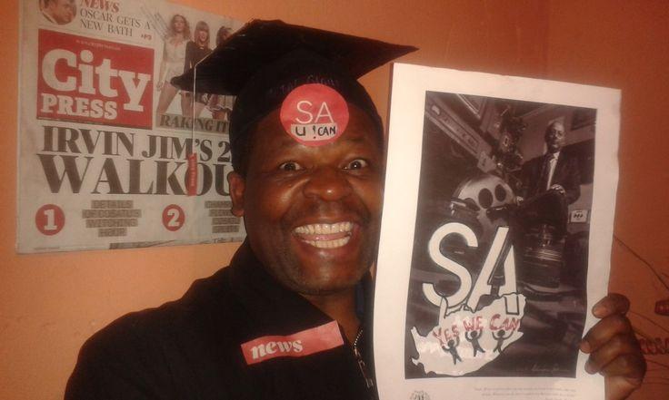 "Mafika Jerry Mkize - ""Thank you Mr.Singh for Leading SA!"""