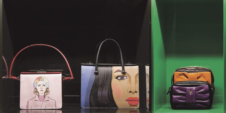 Bags from Spring 2014 and Spring 2008 collections.   - HarpersBAZAAR.com