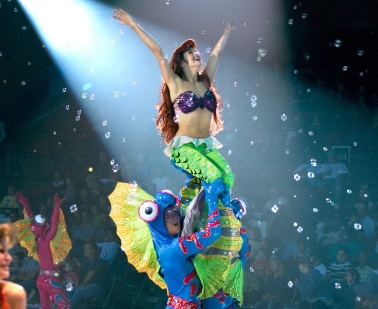 Princesses and Heroes On Ice | Ariel the Mermaid from Disney on Ice! Princesses and Heroes .