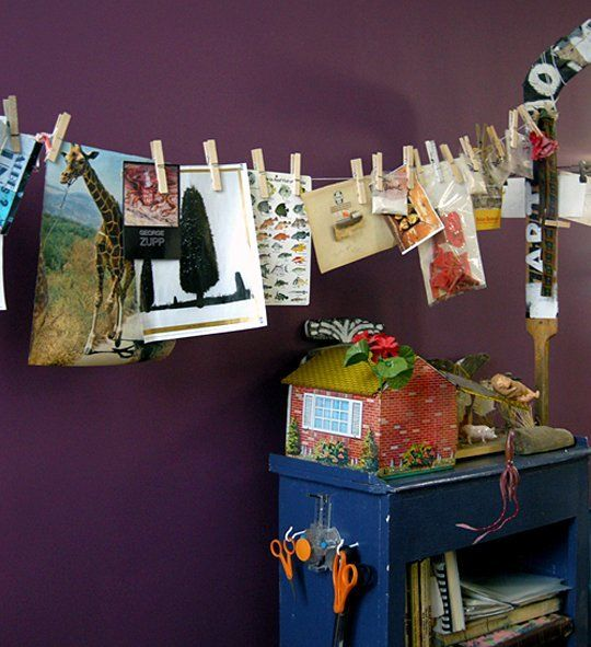 78 best images about art studio on pinterest picture Hang up paintings without nails