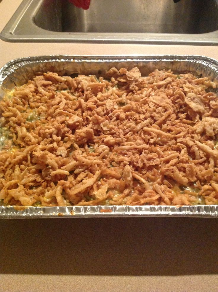 How to Make the Best Green Bean Casserole Ever!!!