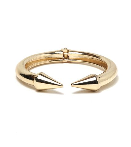 Spike Hinge Bangle Bracelet | Fashion Bracelet | HOTTT.COM