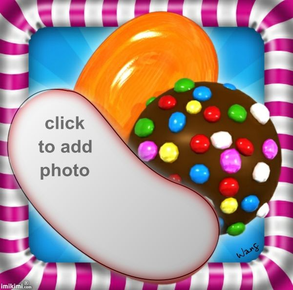 Candy Crush Saga frame. Click to add your own photo.   #game #games #Facebook #candy #crush #saga #guiltypleasure