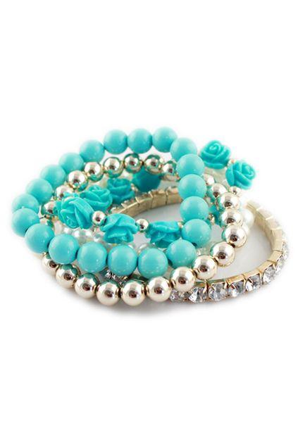 ROMWE   ROMWE Multi-layered Bracelet, The Latest Street Fashion