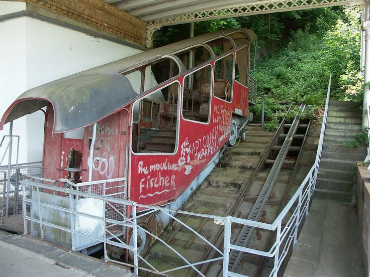 Built to transport passengers to a mountain hotel, the Malbergbahn abandoned funicular railway has sat eerily silent and disused for decades.
