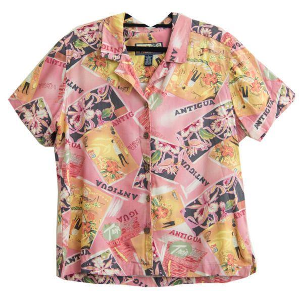 Vintage 1970s Havana Jack's Cafe Shirt Size L Large Hawaii Shirt ...
