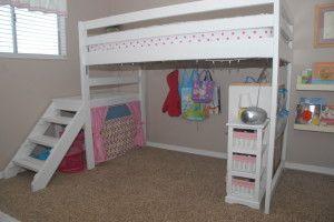 DIY Twin Loft Bed r under $100