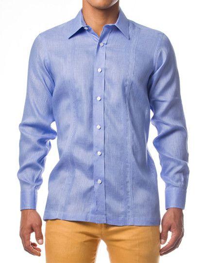 camisas_0010_Guayabera Blue
